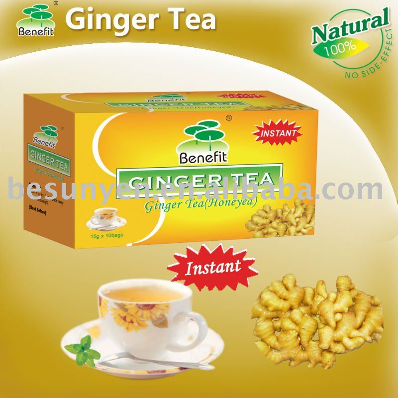Ginger tea instant ginger tea