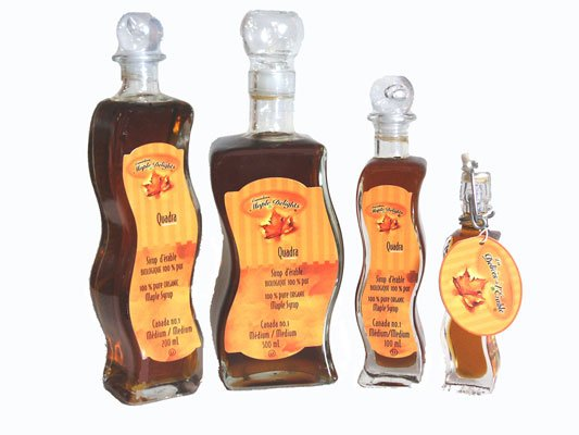 100% Pure  Canadian   Maple   Syrup  (Flavour Option)