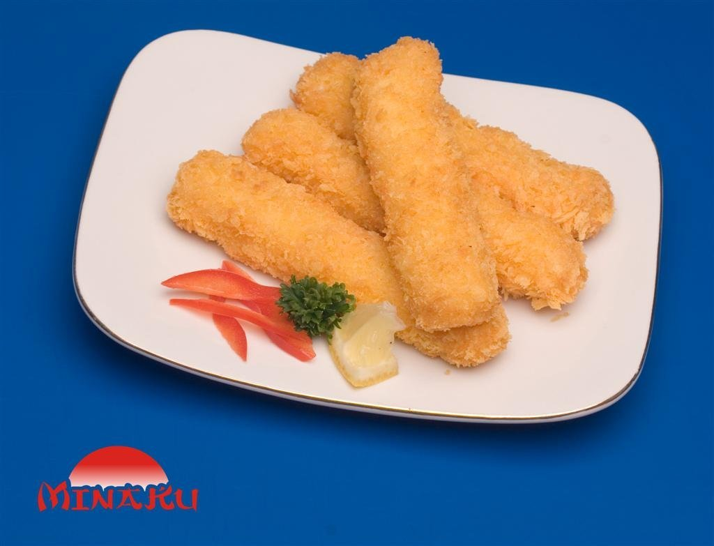 Fish nugget breaded value added products indonesia fish for How to bread fish
