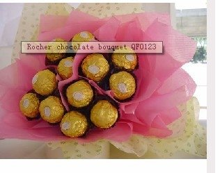 Rocher chocolate bouquet QF0123