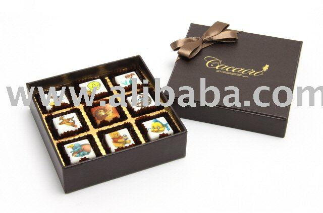 Printed Chocolate with your special photo or image.