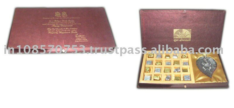 Chocolate Box with Personalize metter