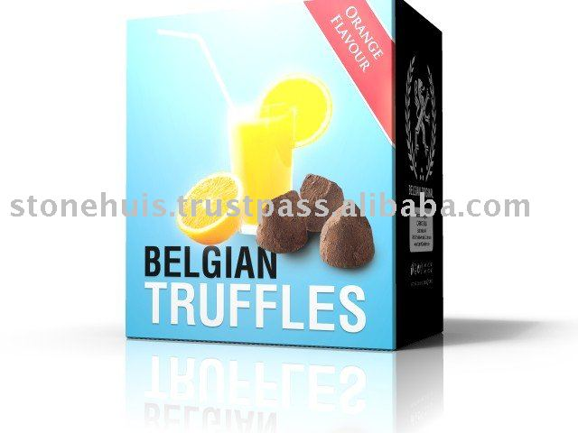 Belgian Orange Truffles - Country Distributors Wanted