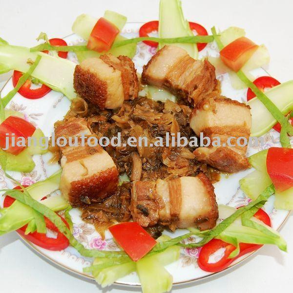 Stewed Pork With Preserved Vegetable