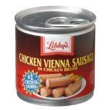 Libbys Chicken Vienna Sausage