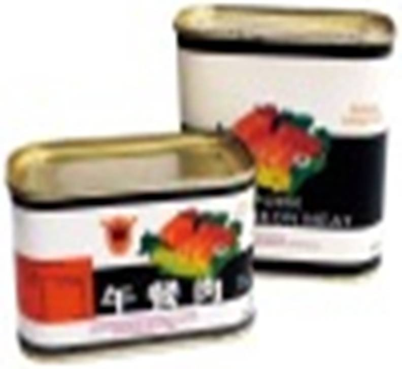 Canned   pork   meat