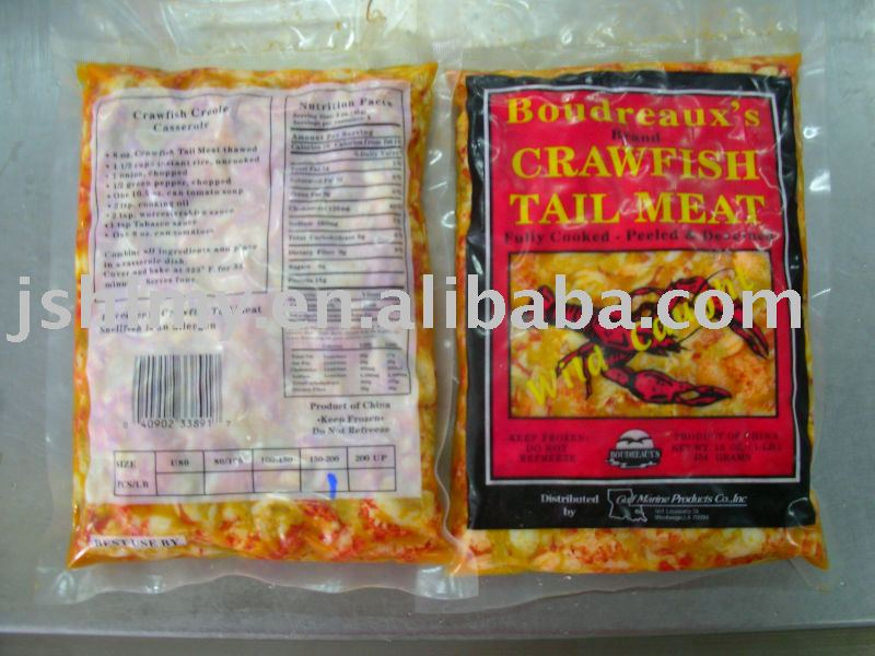 SELL FROZEN COOKED CRAYFISH TAILMEAT products,China SELL ...