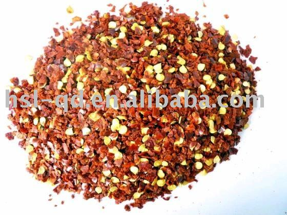 red dried chilli crushed