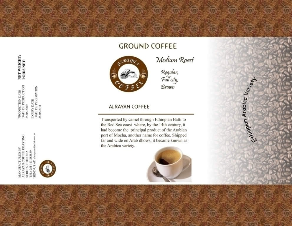 Ethiopian Roasted Arabica Coffee