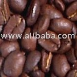 Coffee Beans-Green, Roasted.
