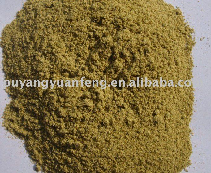 chinese dried green pepper powder
