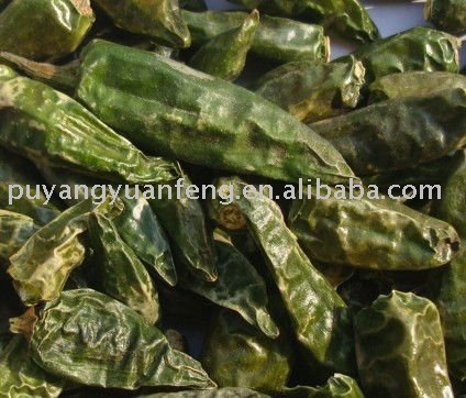 chinese dried green chilli