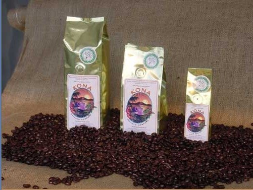 Kona Premium Private Reserve coffee bean