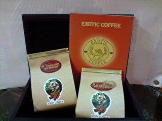 Pure  Kopi   Luwak   Coffee  bean From Indonesia