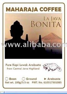 La Java Bonita Roasted Arabusta kopi luwak Bean