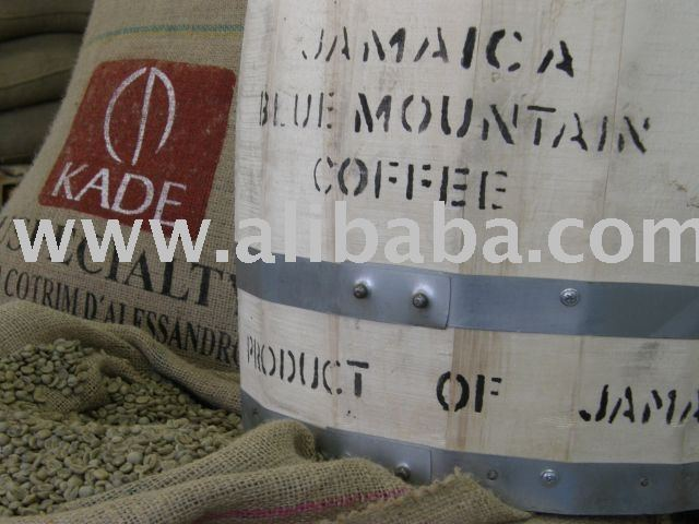 Green coffee, robusta and arabica