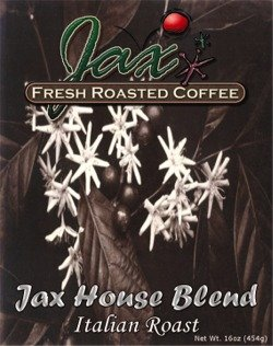 Jax House Blend Italian Roast   Coffee