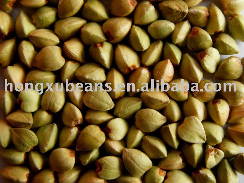 raw organic buckwheat kernels
