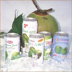 Canned Coconut Juice