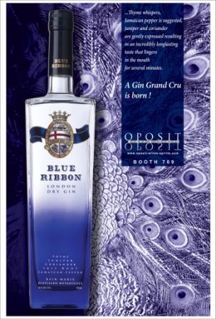Blue Ribbon London dry gin