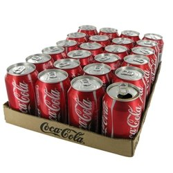 Coca Cola Soft Drink Cans