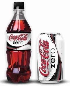 Coca-cola Zero beverage & bottle soft drink