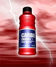 CARBO CHARGE beverage