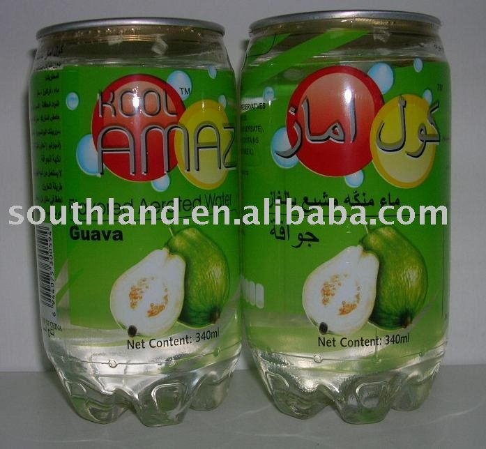 Guava Flavored Aerated Water
