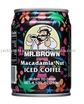 Mr. Brown Macadamia Nut Iced Coffee coffee drinks