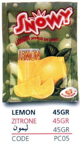 Instant Powdered Beverage Lemon Juice