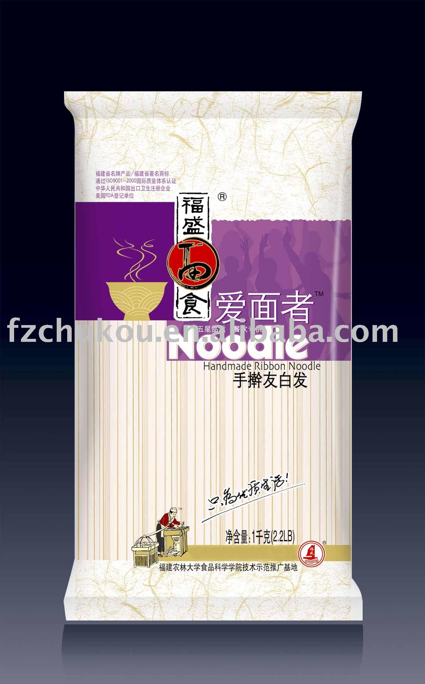 Handmade ribbon noodle, Japanese noodles, Dried noodle