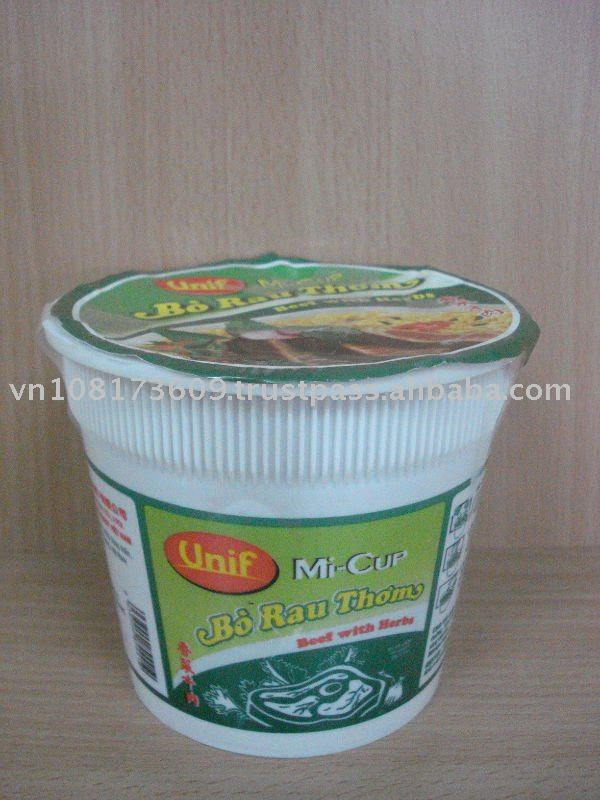 Beef with Herb Cup Instant Noodle