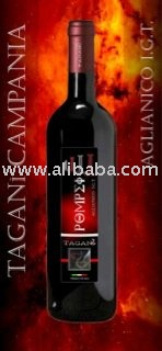 Aglianico red wine from Italy