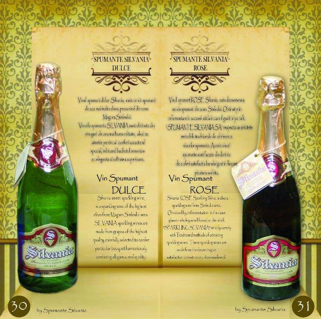 SILVANIA Sparkling Wine 11% Alc.  / Vol. ; 0, 75 L