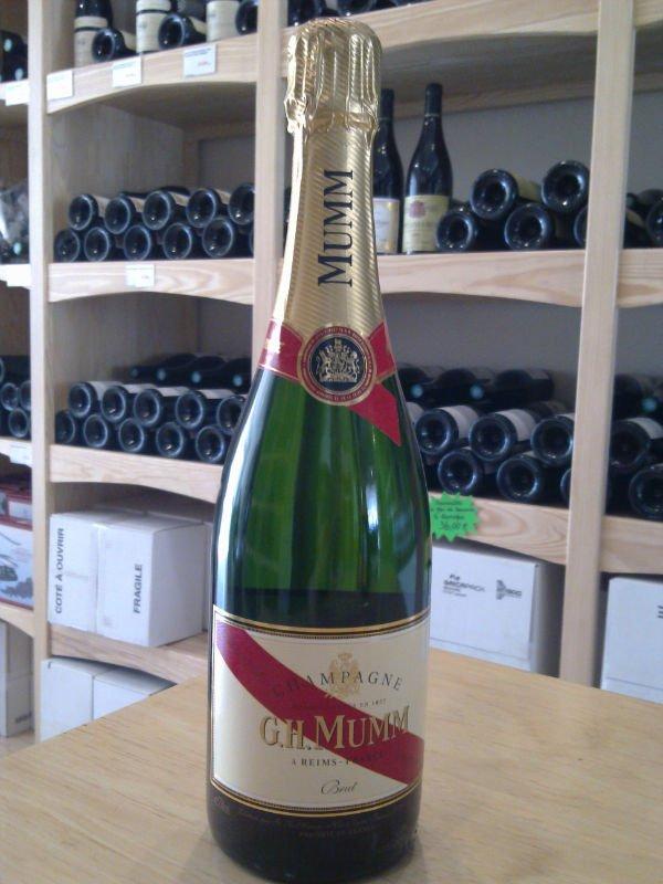 champagne brut rosé gh mumm cordon rouge