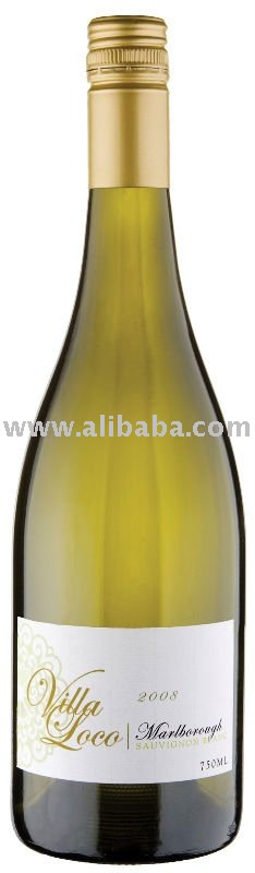 Sauvignon Blanc of Marlborough heart of Villa Loco,