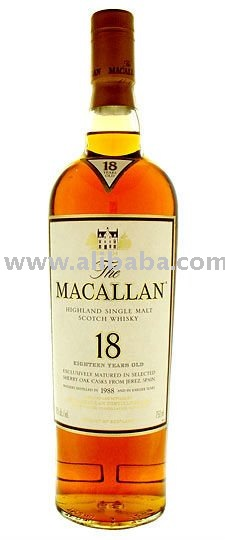 Macallan 18 year old Single Malt Whisky 750ml