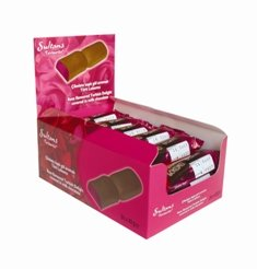 Milk Chocolate Rose Turkish Delight Bars 40g