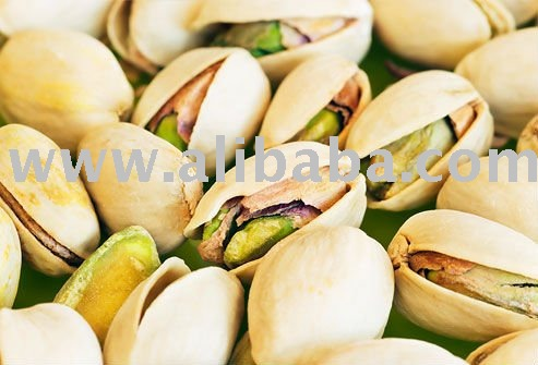 RAW AND BLANCHED PISTACHIO NUTS
