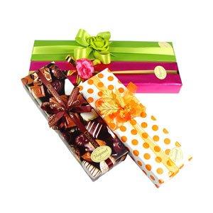 pre- wrap ped box  chocolate