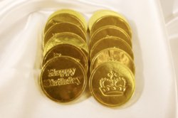 Chocolate Coins Without Personalization