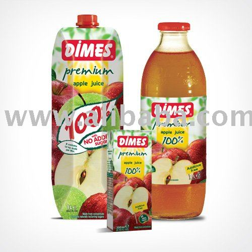 DIMES %100 Apple Juice