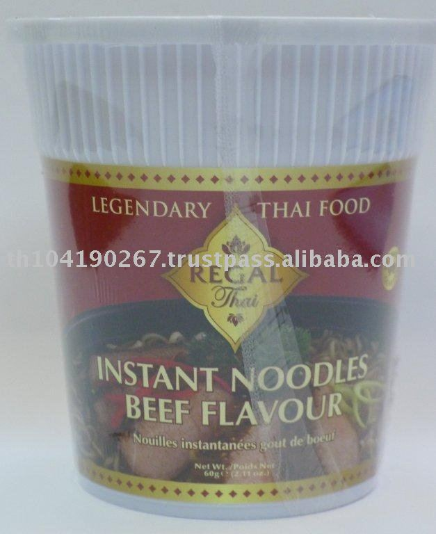 Instant Cup Noodles Beef