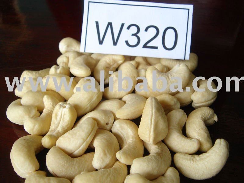 BETTER SPECIFICATION FOR CASHEW NUTS KERNELS W320