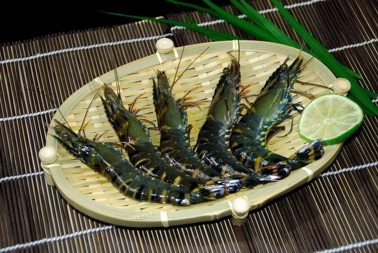 how to cook frozen black tiger shrimp