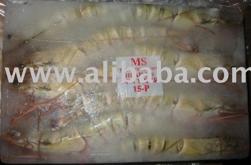 Head On  Sea   Tiger   Shrimp