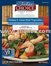 Shrimp & Asian Style Vegetables Paired