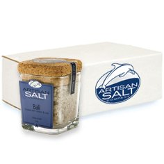 Bali Coconut & Lime Sea Salt by Artisan - Cork Jar (Case of 12)