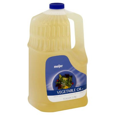 Meijer Vegetable Oil - 1 Bottle (1 gallon
