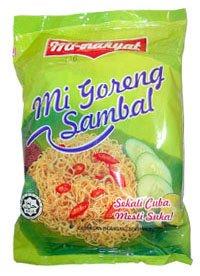 Mi-Rakyat Goreng Sambal noodle